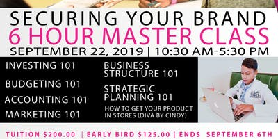 Secure Your Brand 6 Hour Master Class