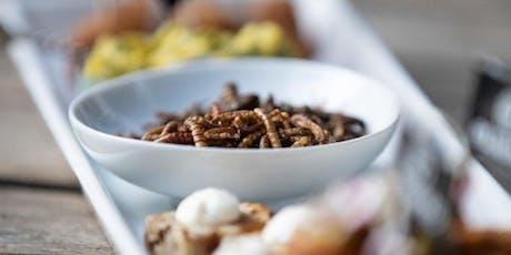 A table les insectes comestibles! Découverte et dégustations de spécialités à base d'insectes tickets