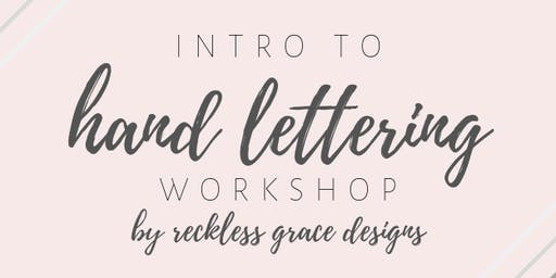 WBC Intro to Hand Lettering Workshop