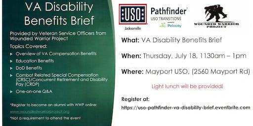 USO Pathfinder - VA Disability Benefits Brief