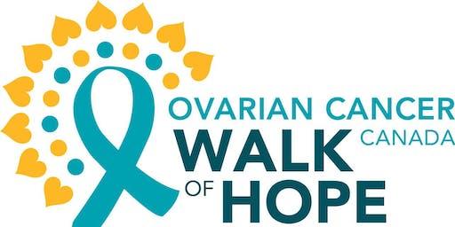 Ovarian Cancer Canada Walk of Hope in Ajax