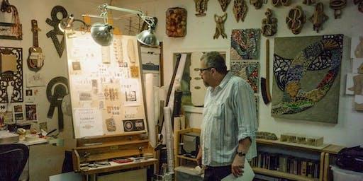 Robert Mirek Artist Studio Visit // Detroit Art Week