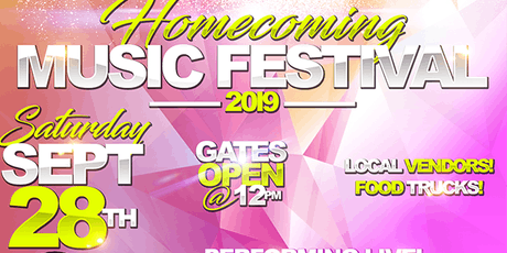 Homecoming Music Festival 2019 tickets