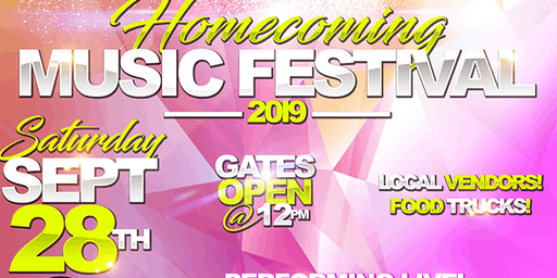 Homecoming Music Festival 2019