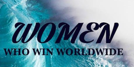 WOMEN WHO WIN WORLDWIDE tickets