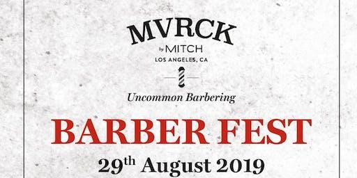 MVRCK®  Barberfest