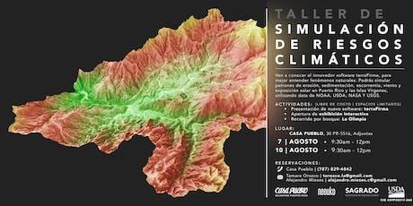 Taller de Simulaciones de Riesgos Climáticos tickets