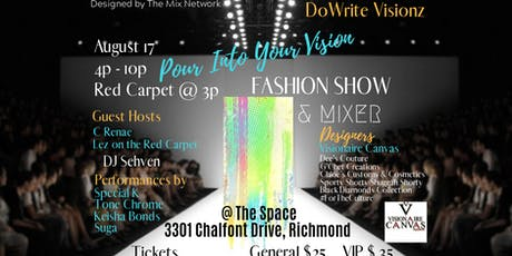 Pour Into Your Vision Fashion Show & Mixer tickets