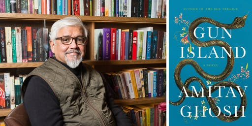 Amitav Ghosh at the Brattle Theatre