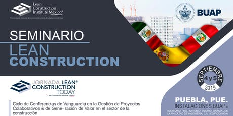 Jornada Lean Construction Today 2019 entradas