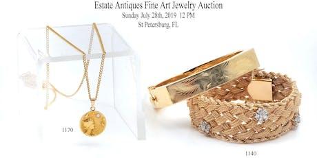 Vintage Estate Antiques, Fine Art & Jewelry Auction tickets