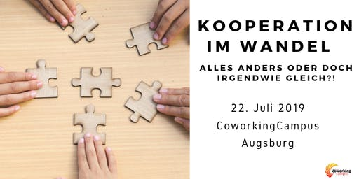 Kooperation 4.0: Kooperation im Wandel // hosted by CoworkingCampus Augsburg