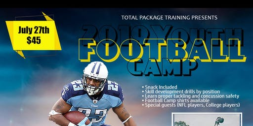 Total Package Youth Football Camp