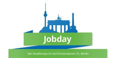 Jobday für Berliner Studenten Tickets