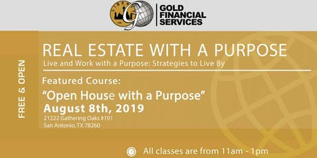 Open House with a Purpose tickets