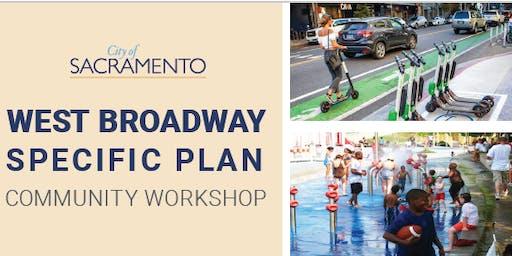 West Broadway Specific Plan Community Workshop