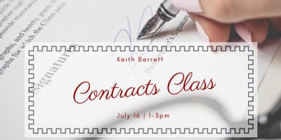 Contract Class with Keith Barrett