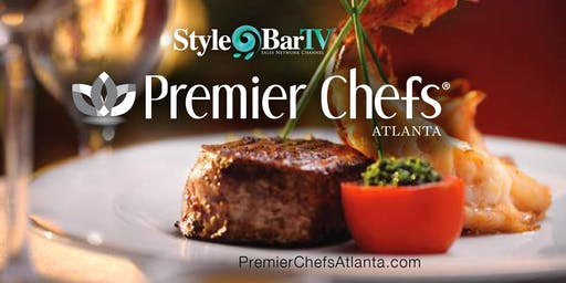 FASHION MEETS FOOD: Premier Chefs Atlanta LIVE Cooking TV Talkshow & Red Carpet Fashions