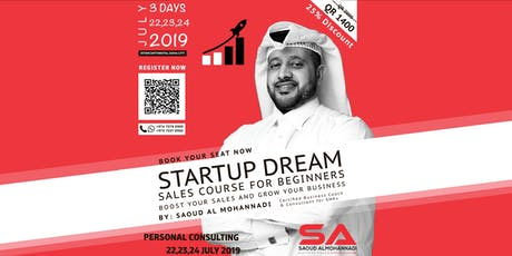 STARTUP DREAM - SALES COURSE FOR BEGINNERS tickets