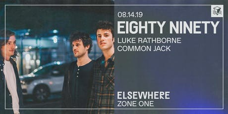 Eighty Ninety @ Elsewhere (Zone One) tickets