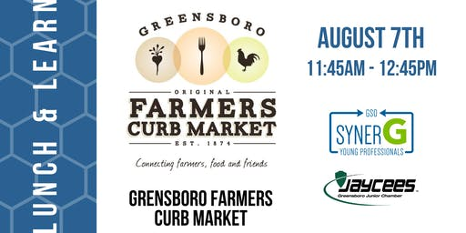 Lunch & Learn: Greensboro Farmers Curb Market