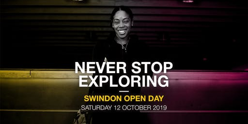 Oxford Brookes Open Day - Swindon - 12 October 2019