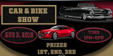 Solomon's Temple Car & Bike Show tickets