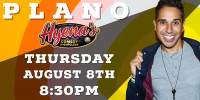 FREE TICKETS! Hyenas Comedy Club - 08/08 - Stand Up Comedy Show