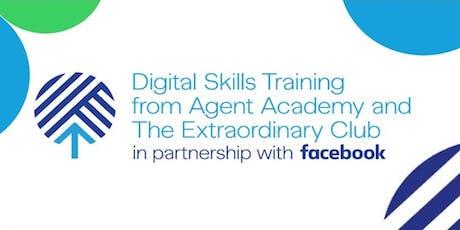 Digital skills training by Facebook tickets