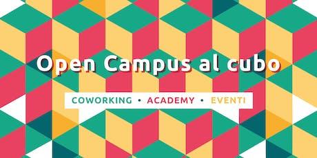 Open Campus al cubo biglietti