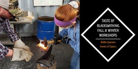 Taste of Blacksmithing tickets