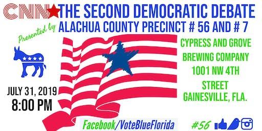 Alachua County Democratic Precinct #56 and #7 CNN Democratic Debate Watch Party!