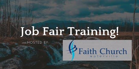 Pastor & Staff Job Fair Training tickets