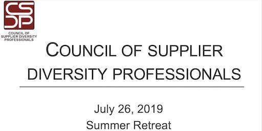 CSDP 2019 Summer Retreat