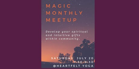 Magic Monthly Meetup tickets
