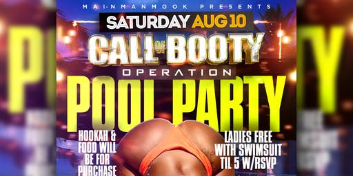 #CallOfBootyMiami- Pool Party (Indoor/Outdoor)Miami, FL