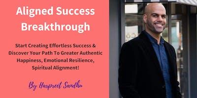 Aligned Success Breakthrough: 1 Day Transformational Workshop