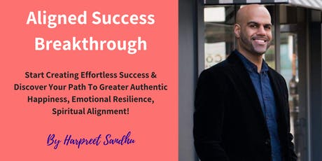 Aligned Success Breakthrough: 1 Day Transformational Workshop tickets