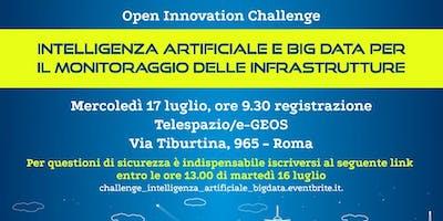 Challenge Intelligenza Artificiale e Big Data per il monitoraggio della Infrastrutture