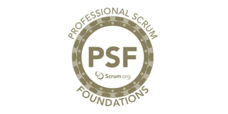 Professional Scrum Foundations - SP Outubro ingressos