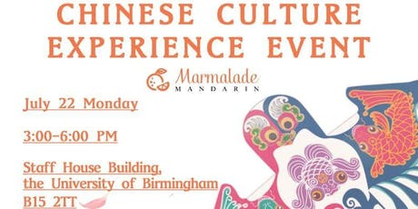 Chinese Culture Experience Event tickets