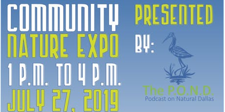 The P.O.N.D. Community Nature Expo tickets