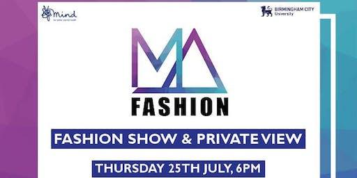 MA Fashion Show