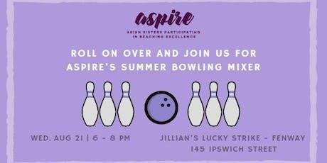 ASPIRE Bowling Mixer tickets