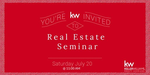 Real Estate Seminar