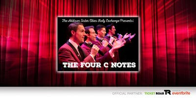 DuPage: Benefit Concert Featuring the Four C Notes. Sponsored by Addison Sister Cities Italy Exchange