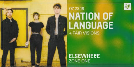 Nation of Language @ Elsewhere (Zone One) tickets