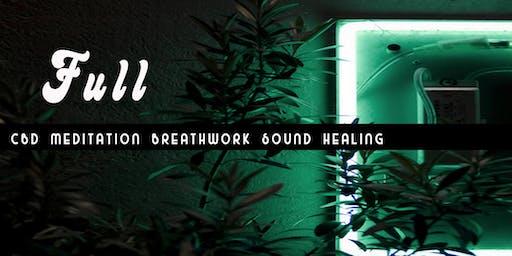 FULL - July Full Moon Ceremony: Meditation, Breathwork & Sound Healing