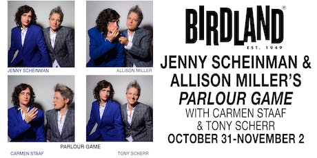 Jenny Scheinman & Allison Miller's PARLOUR GAME tickets