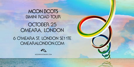 Moon Boots 'Bimini Road' Tour - London (Live) tickets